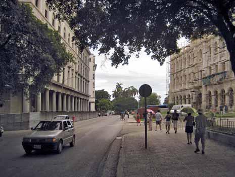 Der Eisenpalast in Cuba